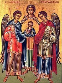 Santos Arcángeles, San Miguel, San Gabriel y San Rafael
