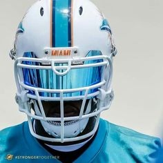 Yoooo this visor is absolutely deadly Pro Football Teams, Football Uniforms, Sports Uniforms, Football And Basketball, Football Helmets, Miami Dolphins Memes, Football Accessories, Sports Helmet, American Football