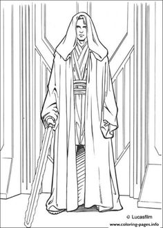 star wars anakin skywalker coloring pages printable and coloring book to print for free. Find more coloring pages online for kids and adults of star wars anakin skywalker coloring pages to print. Star Wars Coloring Book, Cartoon Coloring Pages, Disney Coloring Pages, Animal Coloring Pages, Coloring Sheets, Coloring Pages For Kids, Coloring Books, Boy Coloring, Printable Coloring Pages