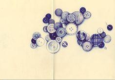 "5.12 Making a Collection Drawing - Klass 5 - Andrea Joseph - Sketchbook Skool: Kourse 2.1.2 ""Seeing"""