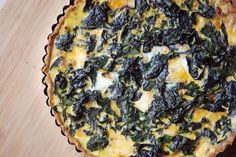 Caramelized Onion and Swiss Chard Quiche | Mehans Kitchen