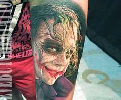 Joker tattoo by Steve Butcher