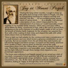 Pioneer Stories: Joy in Mount Pisgah