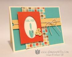 Stampin up stamping stamp it pretty mary fish tag it set card ideas demonstrator blog retro fresh