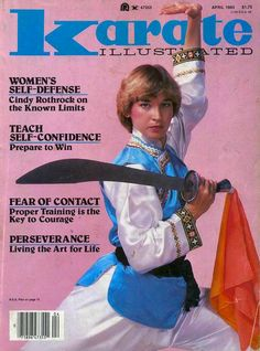 Cynthia Rothrock, Karate Illustrated (4/83)