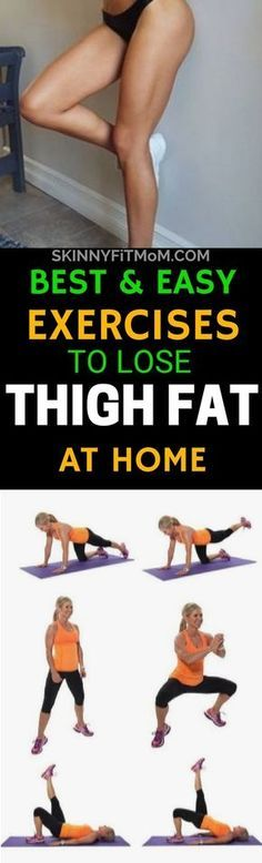 Do you seek the best easy exercises to lose thigh fat fast? These 10 exercises are just right for you.