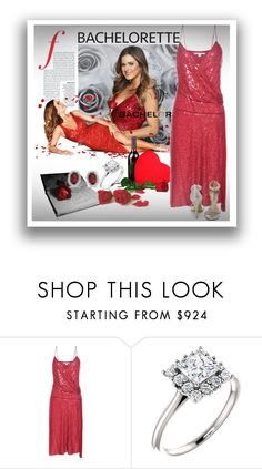 """""""Dress Rachel for the Bachelorette!"""" by lotoss ❤ liked on Polyvore featuring Diane Von Furstenberg, Steve Madden and Amanda Rose Collection"""