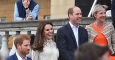 Kate Middleton, Princes Harry and William Host Kids Party