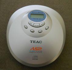 Teac Portable Personal CD Player Discman PD P219C | eBay
