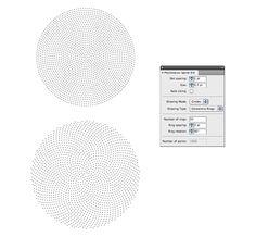 Scriptographer.org - Phyllotactic Spirals