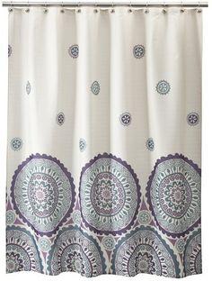 Circles Shower Curtain ($17.49)