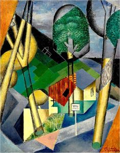 Landscape by Jean Metzinger, Guggenheim Museum Size: cm Medium: Oil on canvas Solomon R. Guggenheim Museum, New York Solomon R. Guggenheim Founding Collection © 2016 Artists Rights Society (ARS), New York / ADAGP, Paris Cubist Artists, Cubism Art, Museums In Nyc, Georges Braque, European Paintings, Art Archive, Cultural, Sculpture, Beautiful Paintings