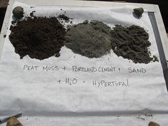 Kein Zement, sondern Hypertufa ... richtig?? Selber herstellen