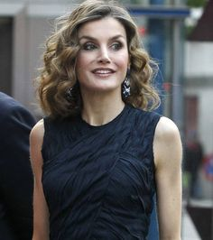Queen Letizia at the final of FameLab 2016 Monologues Contest