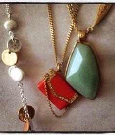 My favorite necklaces! https://www.chloeandisabel.com/boutique/lisab