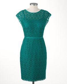 Elegant lace dress | Coldwater Creek