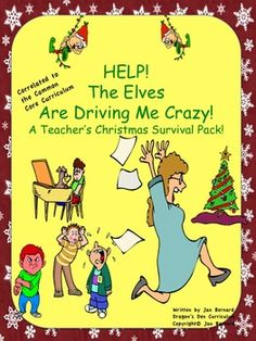 It's that time of year again! Every day the little people in your classroom get just a little more excited, and a little more wild. The ideas in this 82 page survival pack will help you make it until that happy day vacation starts! Guided reading stories, math, party games, parent present ideas, center game and much more! Activities are correlated to the Common Core Standards!