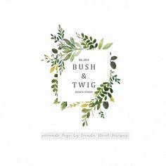 ideas love nature logo inspiration for 2019 Best Logo Design, Brand Identity Design, Branding Design, Corporate Branding, Logo Inspiration, Tree Logos, Bird Logos, Wreath Drawing, Flower Logo