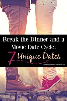 While the traditional dinner and a movie is sweet and a nice way to get together or have a date night out, sometimes you just need something better! Something that hasn't been done so many times. For those times, and for the times when you need some adorable new pictures, here are some ideas for unique dates that go outside the lines.