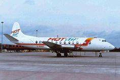 Vickers Viscount G-OHOT Hot Air
