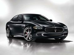 Maserati QuattroPorte - dream car.  Don't think I'd even buy it if I could though.  Have a strict policy not to drive something when you could take the same amount of money and buy a house with it.