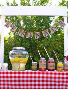 Be Book Bound: Little House on the Prairie: Lemonade Bar