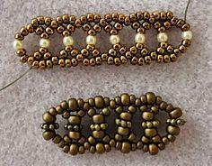 Linda's Crafty Inspirations: Bracelet of the Day: Silver Lace Linda's Crafty Inspirations: Armband des Tages: Silberne Spitze