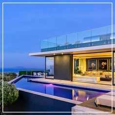 Luxury villa to rent in Cape Town, South Africa - Villa Fresnaye Pergola With Roof, Patio Roof, Pergola Plans, Terrace Floor, Rooftop Terrace, Winter Sun Destinations, Winter Sun Holidays, Wooden Patios, Floor To Ceiling Windows