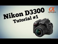 Nikon D3300 - Tutorial #1 Camera Tour [EN] [HD]