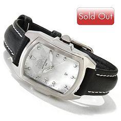 Invicta Womens Lupah Quartz Leather Strap Watch