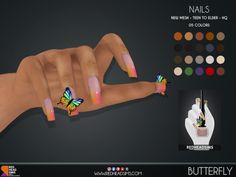 Sims 4 Body Mods, Sims 4 Game Mods, Sims 4 Cc Eyes, Sims Cc, Sims 4 Nails, Cc Nails, Sims 4 Cc Folder, The Sims 4 Cabelos, Sims 4 Children