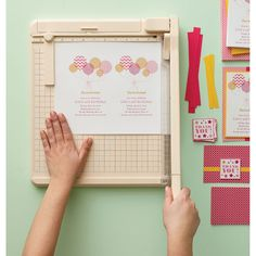 """Martha Stewart Heavy-Duty Guillotine Paper Trimmer 12""""-  I love my guillotine paper cutter, but it is no longer made.  This one looks good, and the price is reasonable."""