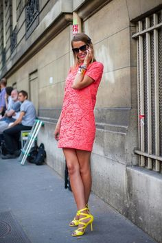 Coral to the core.... #glamourtumblr