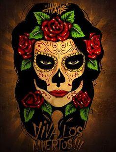 Tatuagem De Caveira Mexicana 12jpg