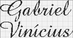 Resultado de imagem para vinicius bordado em ponto cruz