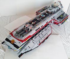 Aurora Exterior FTL Mode | LegoSpaceGuy | Flickr