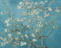 1890 Van Gogh Almond Branches in Bloom(Van Gogh Museum)