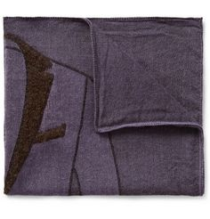Boglioli Jacket-Patterned Woven Pocket Square | MR PORTER