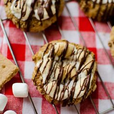 S'mores Thumprint Cookies - Krafted Koch
