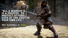 Dragon Age: Inquisition; yes some grey warden action, maybe he'll the the hero of Frelden