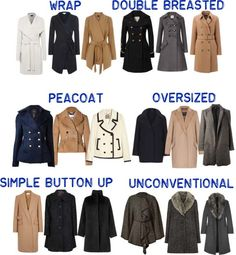 Principles of a Practical and Functional Minimalist Wardrobe Fashion Terms, Fashion 101, Types Of Fashion Styles, Look Fashion, Winter Fashion, Fashion Outfits, Fashion Guide, Fashion Women, Types Of Coats