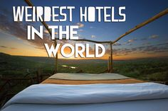 We have compiled a list of 12 Of The Weirdest Hotel Rooms You Can Actually stay in - including the bizarre, the weird and the strange, read online today.