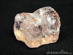 Raw rose pink quartz semiprecious gem jewels stone