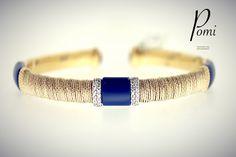 BraceLove - Gold Bracelet - Pomi Silver Jewelry, Bracelets, Gold, Handmade, Hand Made, Silver Jewellery, Bracelet, Arm Bracelets, Bangle