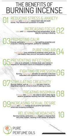 The Benefits of Burning Incense (Printable) | Witches Of The Craft®