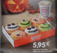 Dessert Halloween, Halloween Donuts, Halloween Desserts, Halloween Food For Party, Halloween Treats, Donuts Beignets, Dunkin Donuts, Churros, Doughnut Shop