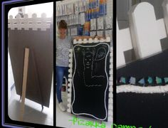 -Pizarra Campestre- Creado para tiendas de lana (DROPS) Pomelo.   -URIAN DESIGN-