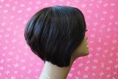 Wishe LA : 100% remy human wig - custom made wig - cute short human wig - soft hair texture
