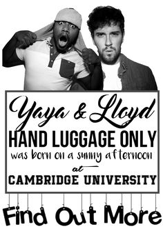 Lloyd Yaya Hand Luggage - funny written and beautiful pictures