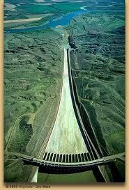 The Spillway Fort Peck
